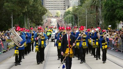 AFL Grand Final Parade Rehearsal Sept 26th